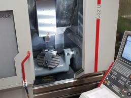 Hermle C22 5-Achs-Universalfräsmaschine